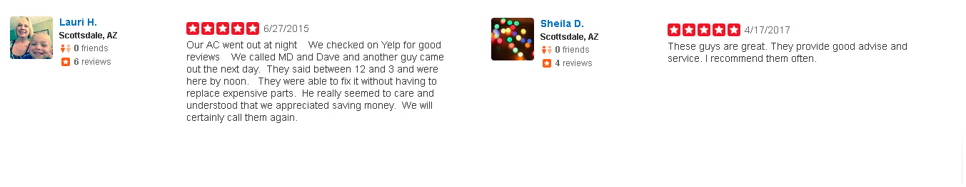 MDs Cooling and Heating Reviews on Yelp
